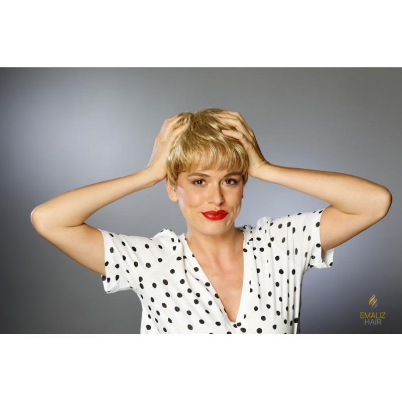 la perruque chimio courte
