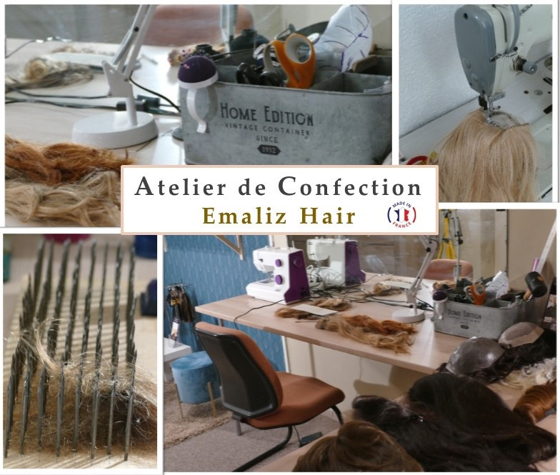 ATELIER DE CONFECTION DE PERRUQUE A CHARTRES